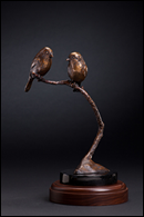 Carolina Chickadee - bronze